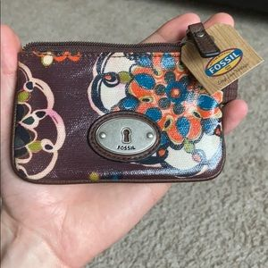 Fossil women's wallet clutch